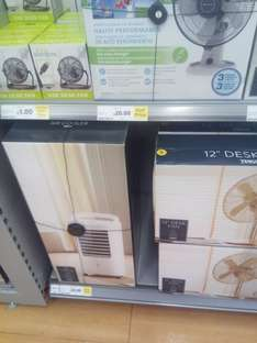 half price (or less) fans in store at tesco from £1