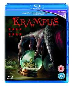 Krampus [Blu-ray+Digital HDUV] £5 in store @ Asda