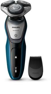 Philips AquaTouch S5420/06, Wet and Dry Men's Electric Shaver with SmartClick Precision Trimmer RRP £160 - £51.99 @ Amazon