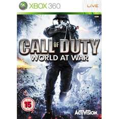 (Pre-Owned) Call Of Duty World At War - Xbox 360/Xbox One Backwards Compatible £5.00 @ CeX (+ £2.50 P&P)