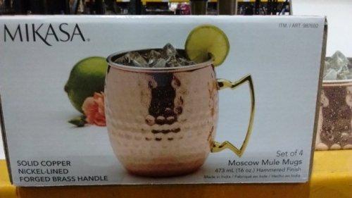 Moscow mule mug 4 pack @ Costco £4.76 (Instore)