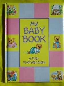 My Baby Book - A First Five Year Diary £4.00 delivered @ eBay (racingcrazyyellow)