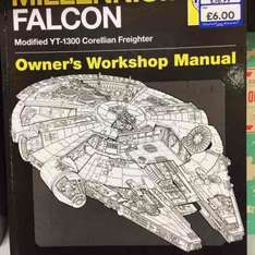 Millennium Falcon Haynes Manual only £6 at The Works