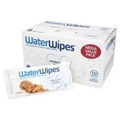 WaterWipes Sensitive Baby Wipes, Natural & Chemical-Free, 12 x 60 Wipes £12.65 subscribe & save Amazon