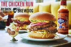 Free Chicken Burger and 2 Brewdog beers at Byron Manchester Corn Exchange on Fri 30th Sept - just turn up