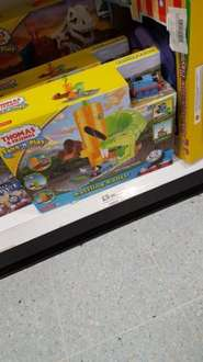 Take and Play Thomas the Tank Rattling Railss £9.99 @ Home Bargain