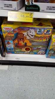 Take and play Thomas and Friends Roaring Dino Run. £19.99 @ Home Bargain