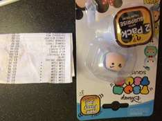 Tsum tsum series 2 fuzzy feel 2 pack, scanning at 75p in tesco (west durrington)