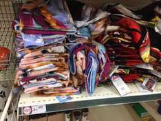 Wilko in store Frozen or Marvel towels £3.50 reduced to clear.