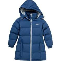 Trespass Girls' Navy Tiffy Padded Jacket - 3-4/7-8 Years £11.99 and Pink Parker- 5-6 Years 13.99/ 3-in-1 Pink Skydive Jacket - 5-6 Years 12.99 Argos