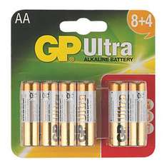 GP AA/AAA-batteries -12-pack  £1.49 @ screwfix