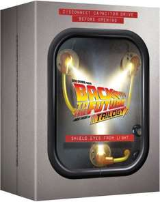 Back to The Future - Flux Capacitor Boxset Blu-ray   £24.99 @ Zavvi