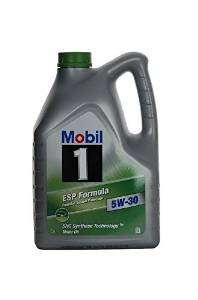 Mobil 1 ESP Formula 5W-30 Engine Oil 5L £31.09  - Amazon