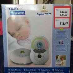 Tomy Digital TF525 Baby Monitor - £12.49 instore @ Mothercare