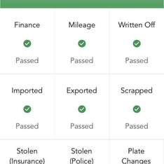£6 outstanding finance history check via VSpecs - Free Car Tax Check with Vehicle History @ ITunes