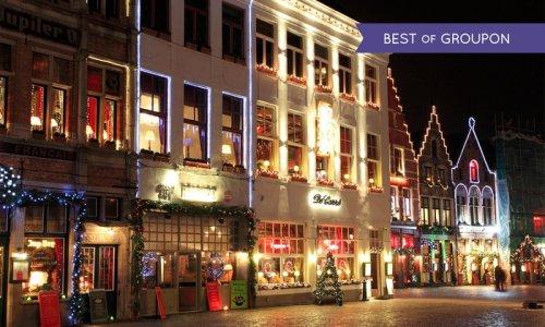 Bruges: Christmas Market & Mini Cruise & 1 Night Hotel £89pp @ Groupon