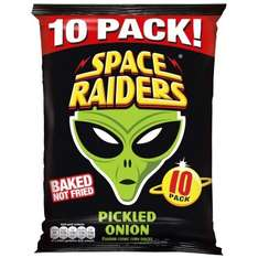 Space Raiders Pickled Onion (Baked not Fried 10 pack) was 99p now 2 for £1.50 @ B&M