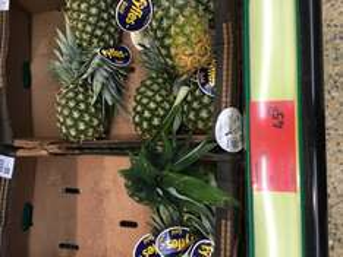 Aldi Pineapple 45p only