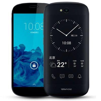 Yotaphone 2 5.0 inch 4G Smartphone £108.54 (poss £7.05 topcashback=£101.49) @ Gearbest