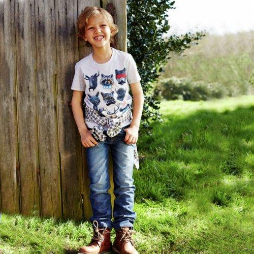 Cherokee Boys' Herringbone Jeans - 5-12 Years Was £12. Now £3.50 @ Argos Free C&C