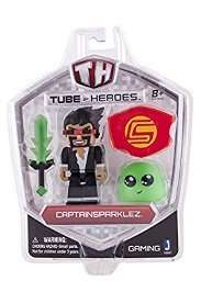 Tube Heroes 3-Inch Captain Sparklez with Accessory £1.99 @ Home Bargains
