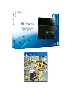 Playstation 4 1Tb Black Console With FIFA 17 £179.99 Very