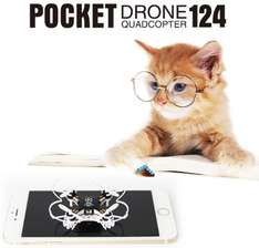 FQ777-124 Pocket Drone 4CH 6Axis Gyro Quadcopter With Switchable Controller RTF £9.35 @ banggood.com