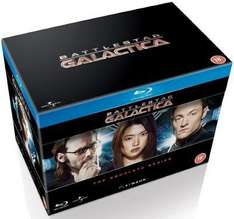 Battlestar Galactica: The Complete Series Blu Ray £22.50 @ Zoom with code + possible 4% topcashback