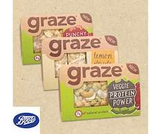 Free graze snack punnet @ Boots by O2 Priority