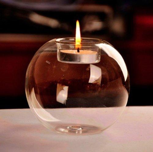 "Handmade Crystal Glass ""Tealight"" Holder £1.22 @ aliexpress.com (eHome Online Store)"