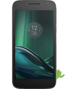 Lenovo (Motorola) Moto G4 Play - Black/White - £79.99 PAYG Upgrade or £89.99 PAYG @ CPW