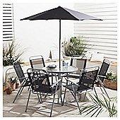Hawaii 8 piece Garden Furniture Set now £47.95 Delivered @ Tesco Direct