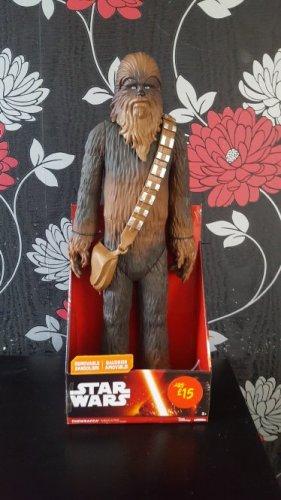 star wars 20inch figure chewbacca £3.75 Asda instore