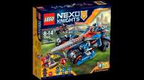 "Lego 70315 ""Clay's rumble blade"" Nexo Knights £13.49 prime / £18.42 non prime @ Amazon"