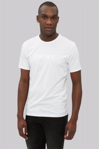 DKNY White Logo Crew Neck T-Shirt + 10.05% TCB + 15% Student discount!! (£3.95 P+P under £50) @ Moss Bros