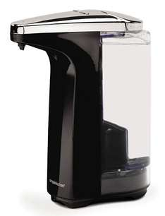 £18.00 Delivered with Prime - Simplehuman Compact Sensor Pump with free Soap Sample, 237 ml - Black from Amazon