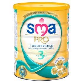 SMA Pro Toddler Milk 1-3 Years £6.00 @Asda INSTORE