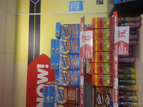Crispy Mini Weetabix box 375g 59p @ Heron Foods