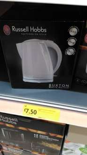 Russell Hobbs Buxton kettle £7.50 @ Morrisons