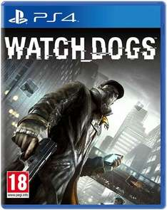 PS4 Watch Dogs Game Pre-owned £6.99 @ Game