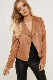 Offer / Code Stack £5 off wys £25 PLUS 30% Off Code + Free Delivery / Returns @ Brand Attic (ie Faux Suede Biker Jacket was £35 now £21 Del + Small Glitch in OP)