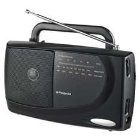 asda radio bargain - polaroid am/fm radio pks-213a - £9