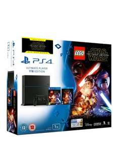 Playstation 4 1TB with Lego Str Wars and Force Awakens - £179.99 @ VERY