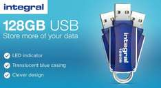 Integral 128GB Courier USB Flash Drive £14.99 delivered from My memory