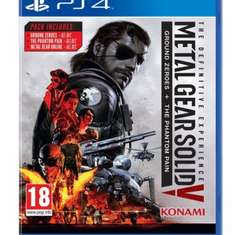 £25.00 Metal Gear Solid V - The Definitive Experience (PS4) @ Amazon - Delivered