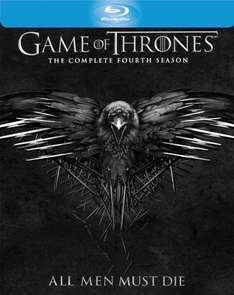 Game of Thrones Season 4 Blu Ray - £16.22 (Prime) £18.21 (Non Prime) @ Sold by Shop4World and Fulfilled by Amazon.