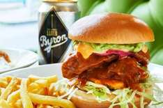 NATIONWIDE Find a Byron plastic chicken anywhere with a Byron 7-9 October take it to restaurant for any free burger off the menu until 6 November