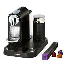 Nespresso CitiZ and Milk by Magimix M190 Coffee Machine - Limousine Black at Amazon for £99.97