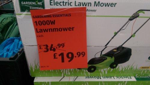 Lawnmower for £19.99 @ Aldi Portishead
