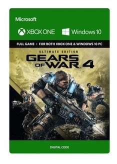 Gears of War 4 Ultimate Edition - £69.34 from CD Keys With Facebook Discount